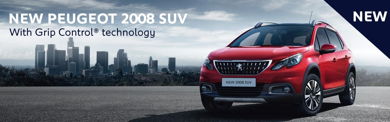 new Peugeot 2008 SUV Counter