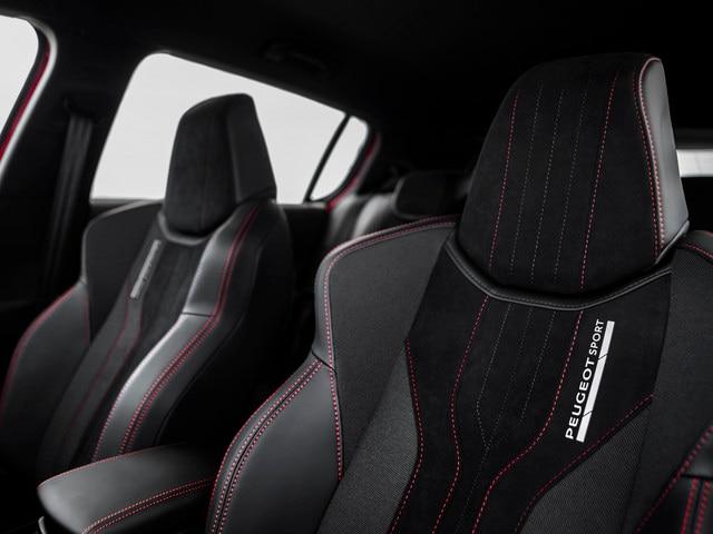 Sensory pleasure - Materials - Peugeot 308 GTi seats