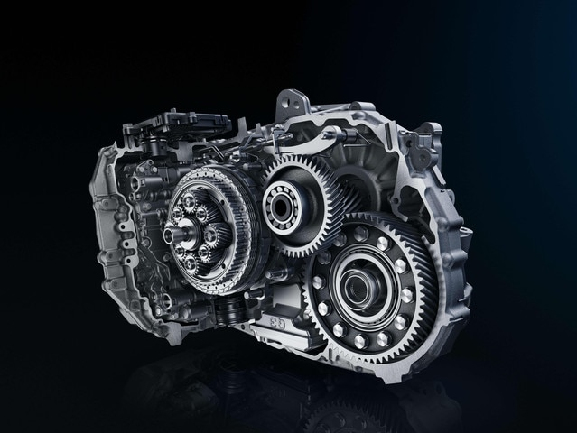 EAT6 Automatic Gearbox - Presentation of gearbox
