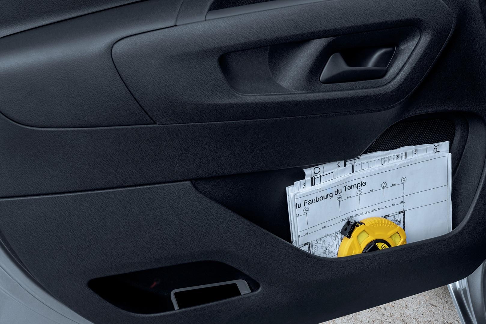 Peugeot Partner Door Storage