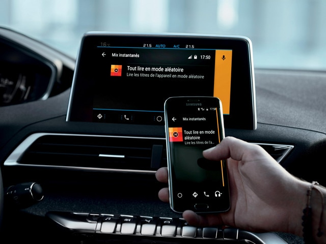 New SUV PEUGEOT 5008: Mirror Screen function