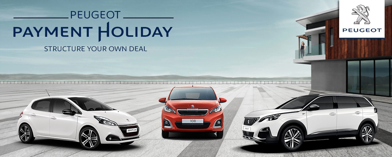 Peugeot Payment Holiday Promotion