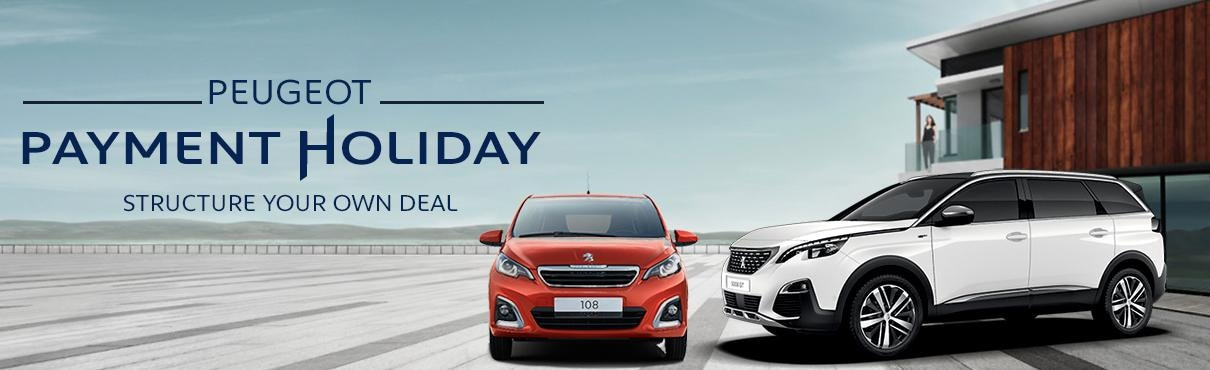 Payment Holiday - Peugeot South Africa