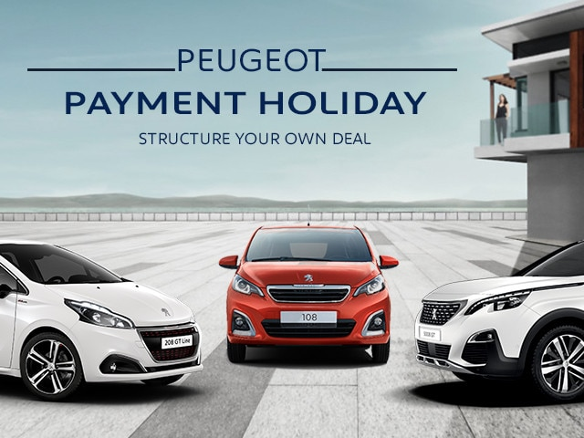 Peugeot Payment Holiday Mobile