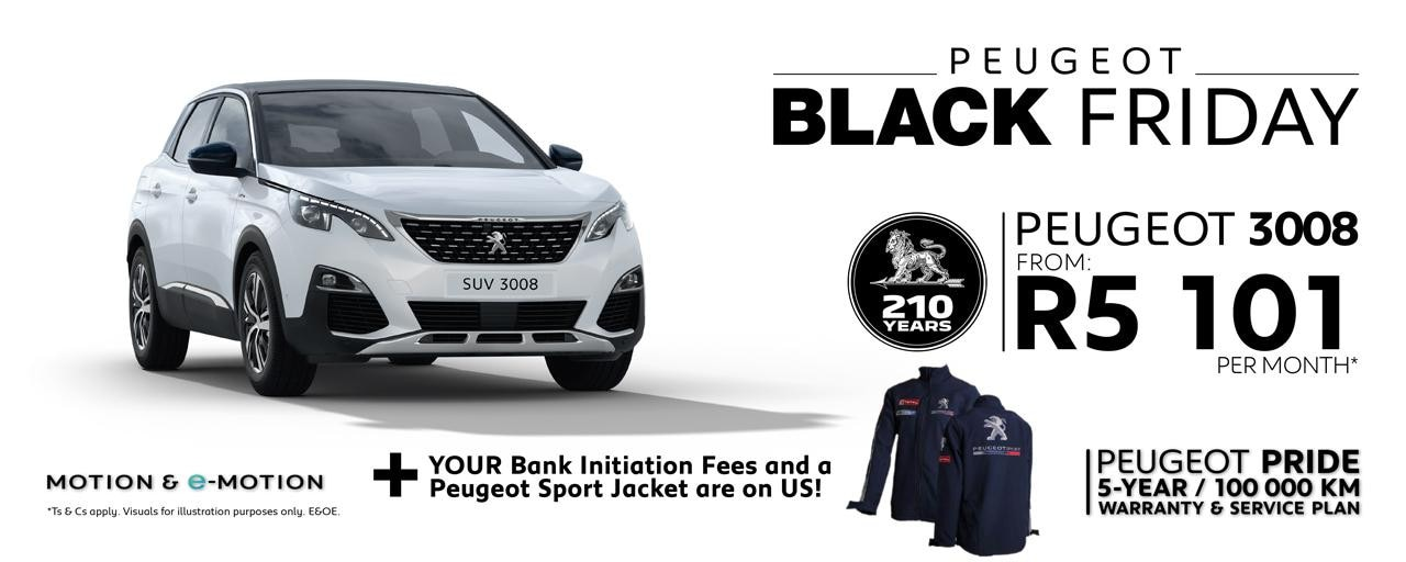 Peugeot 3008 Black Friday