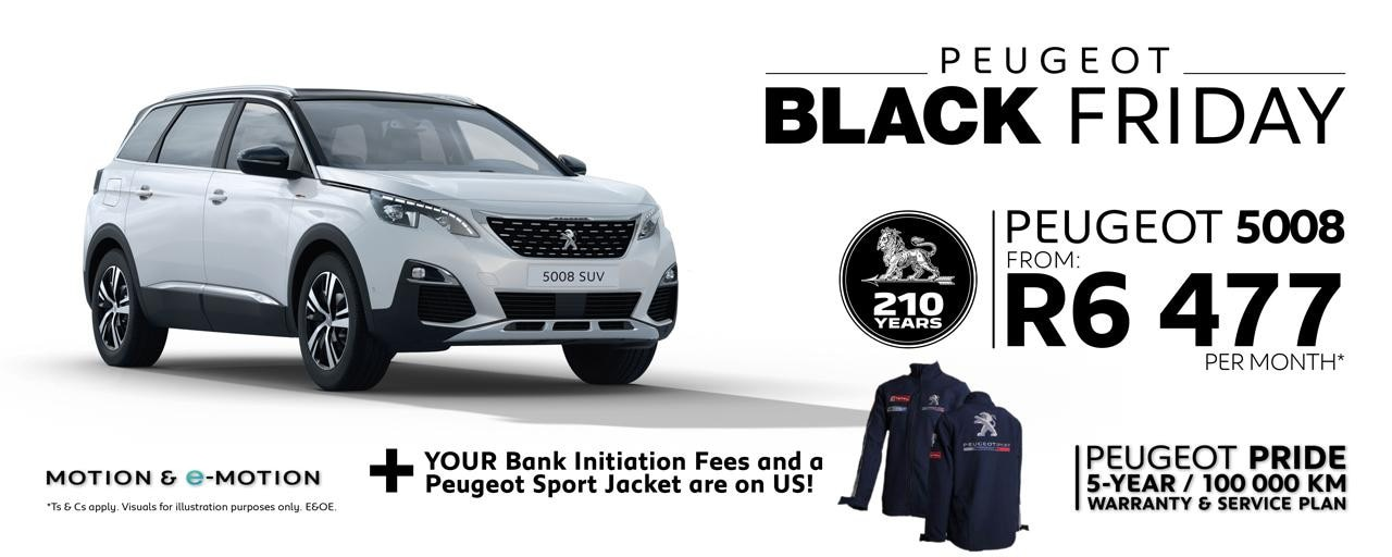 Peugeot 5008 Black Friday