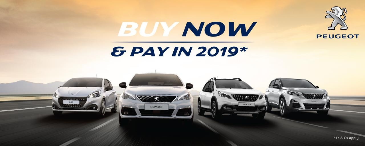 Buy now pay in 2019