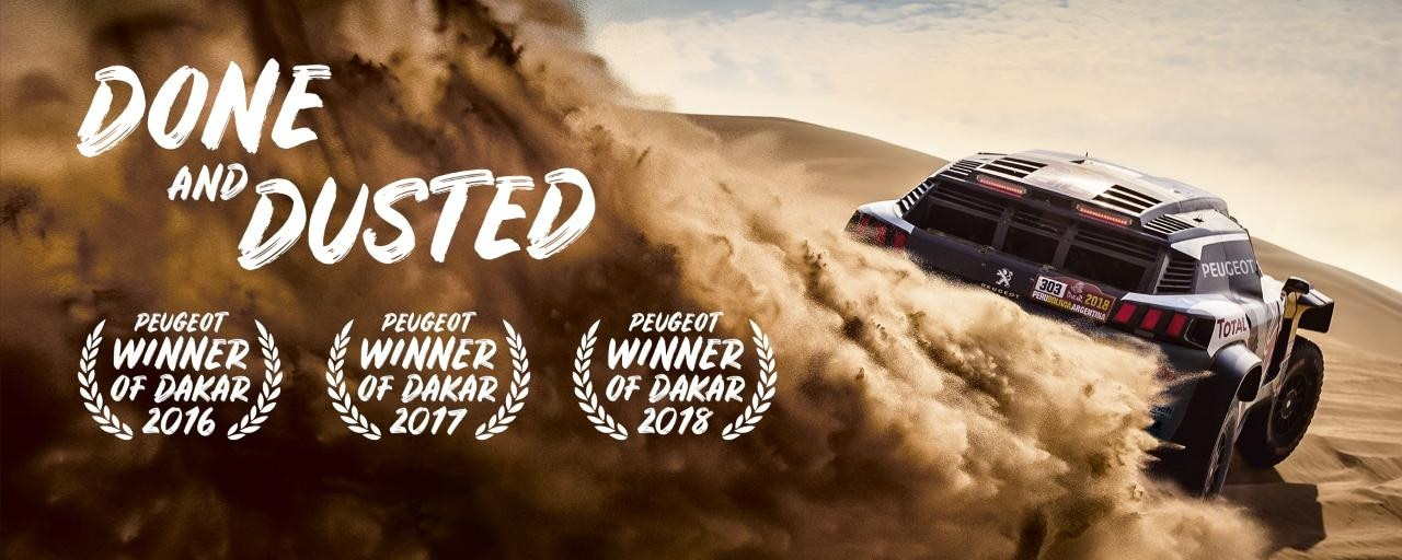 Peugeot Wins 2018 Dakar