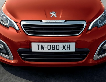 PEUGEOT 108 – Full front end and headlights