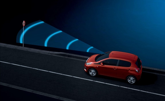 PEUGEOT 108 – Sign recognition