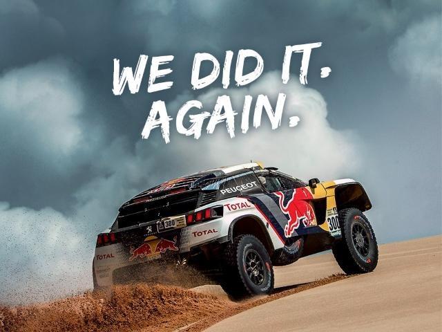 Peugeot Dakar 2017 - We did it again