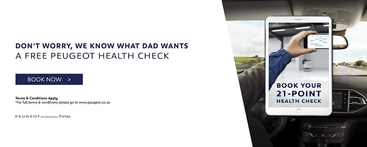 Health Check - Fathers Day Campaign