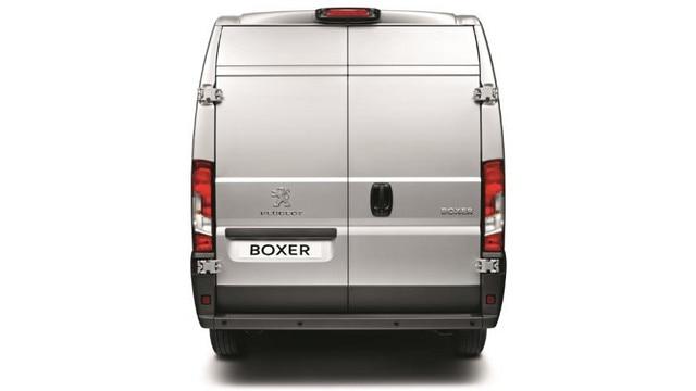 Peugeot Boxer Closed Doors