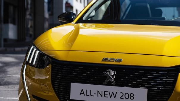 NEW PEUGEOT 208 – front view