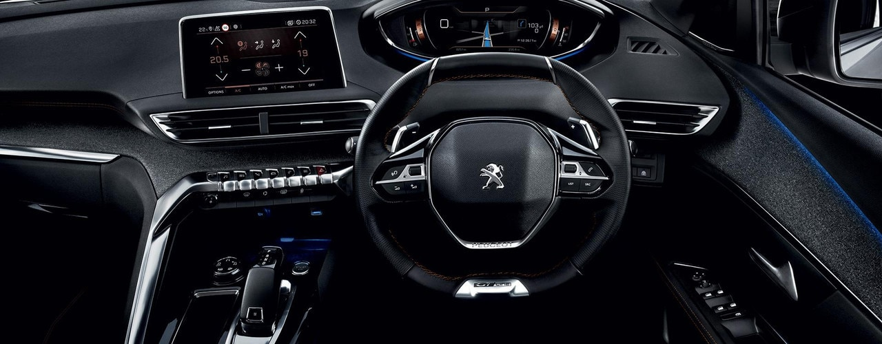 3008 SUV Interior