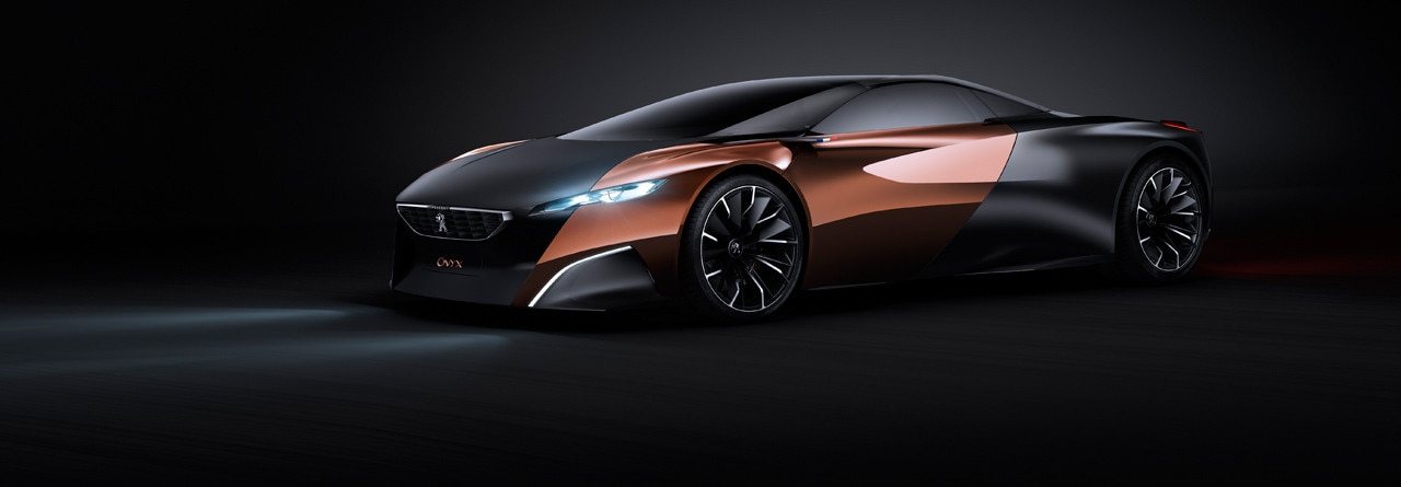 Peugeot Onyx: The Super-car Of The 21st Century