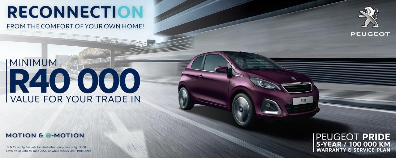 Peugeot 108 Offer