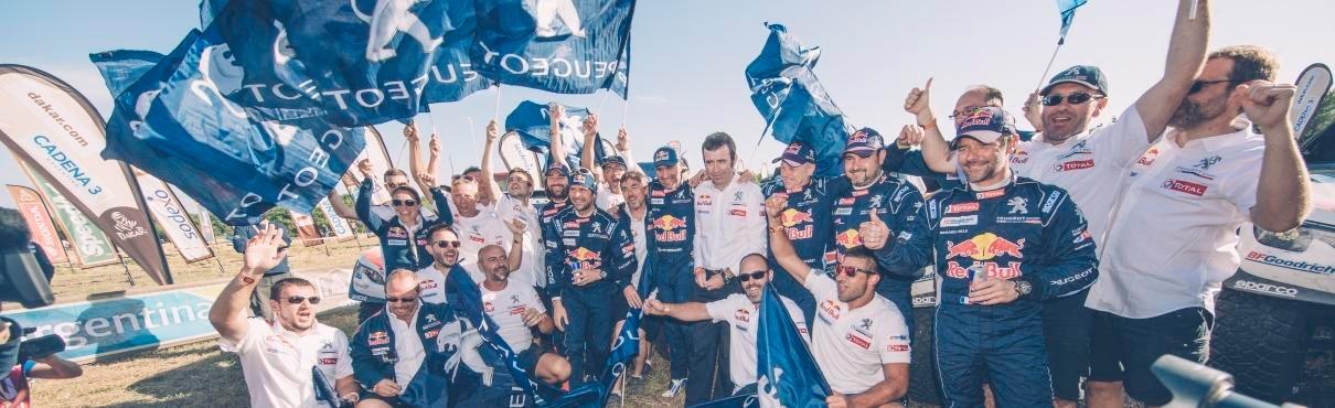 Peugeot DKR Victory 2017