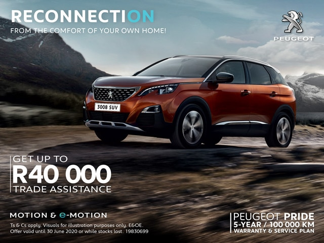 Peugeot 3008 Offer