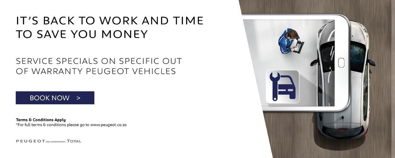 Peugeot Economy Service Campaign