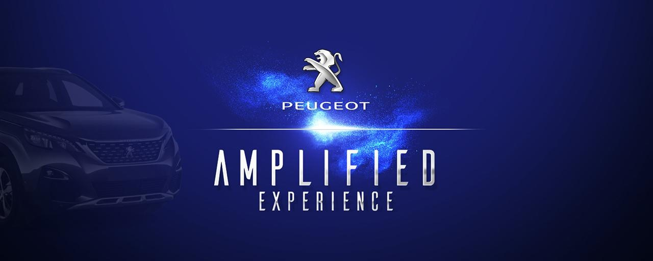 Peugeot 3008 Amplified Experience
