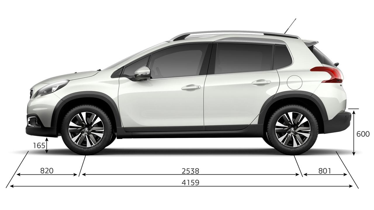 New Peugeot 2008 SUV | Technical Information