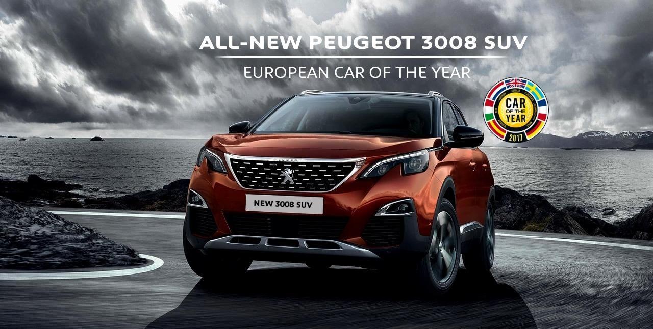 Peugeot 3008 SUV ECOTY