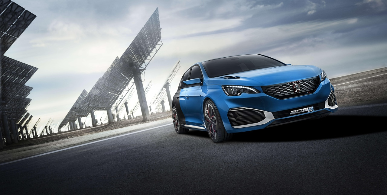 Peugeot 308 R HYbrid - Discover the 308 R HYbrid Concept car