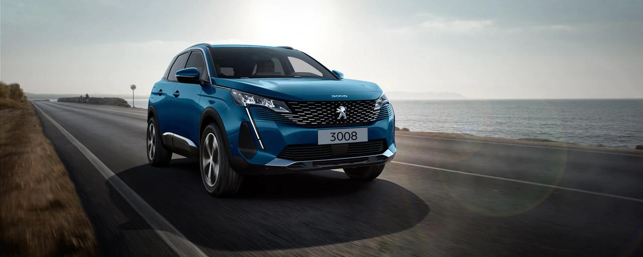 All New  Peugeot 3008 SUV