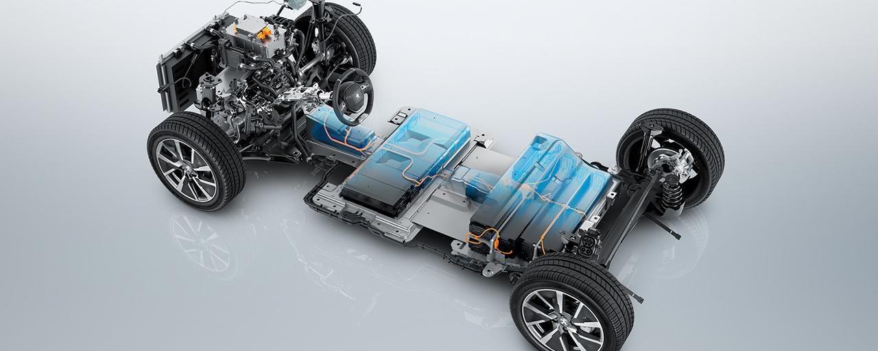 Peugeot 208 electric